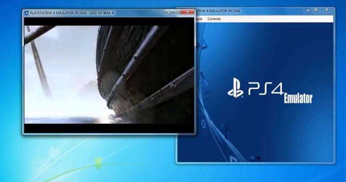 PS4 -emulatorer för PC