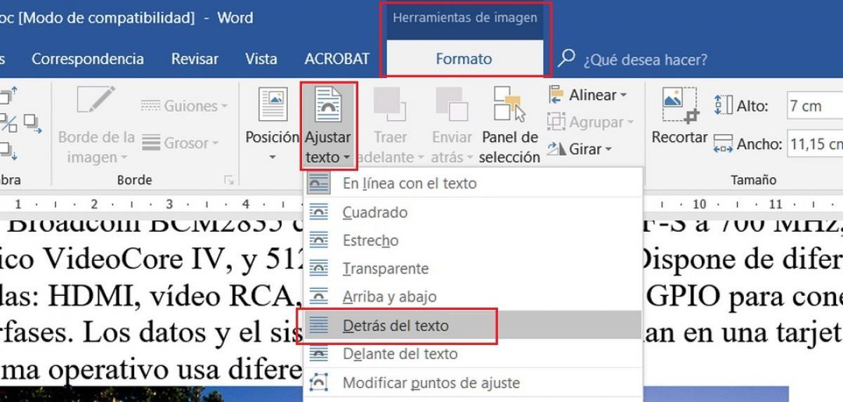 Comment écrire ou insérer du texte sur une image dans Word