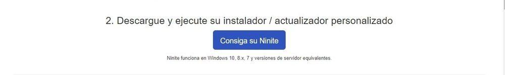 Ninite en espagnol