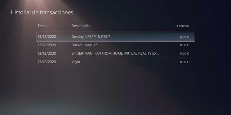 Come vedere il saldo di PlayStation 5