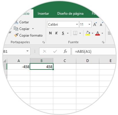 Comment obtenir une valeur absolue dans Excel