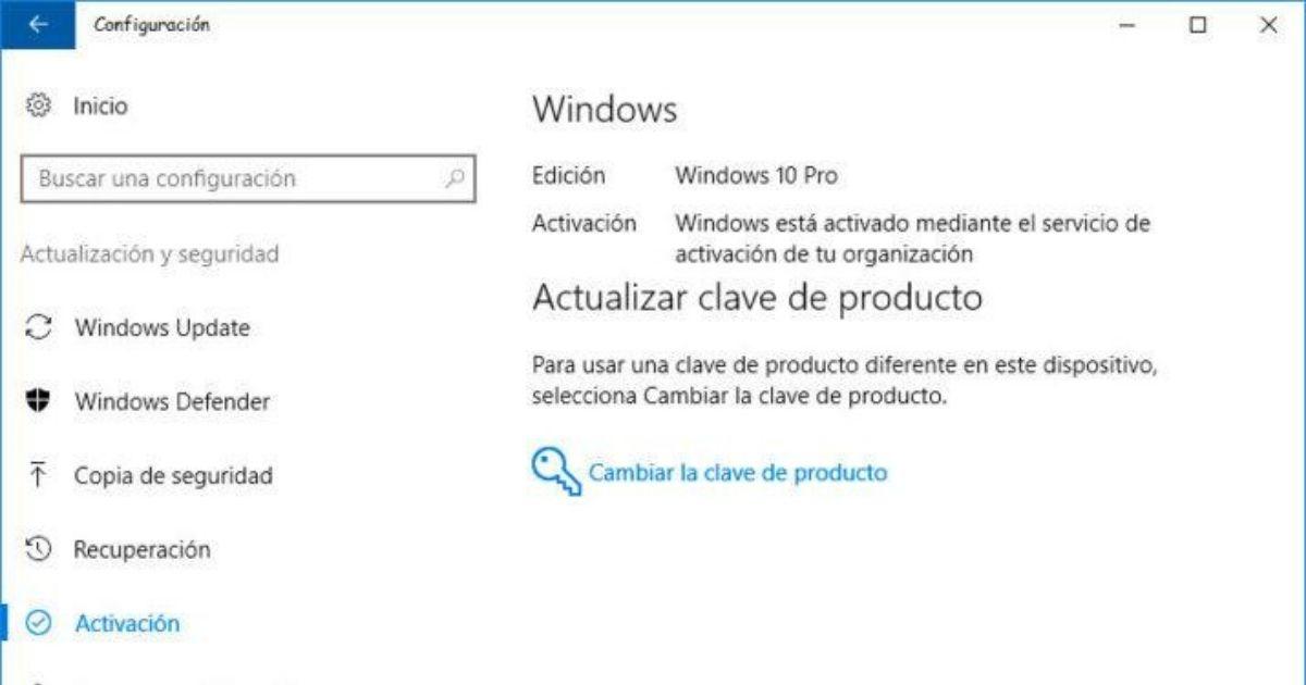 vérifier l'activation windows 10