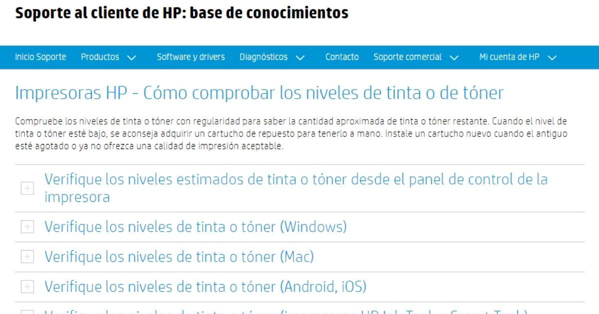 Überprüfen Sie die Tintenfüllstände des HP Druckers